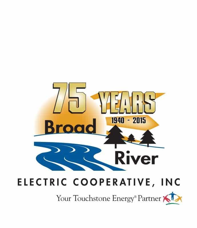 BREC 75th logo