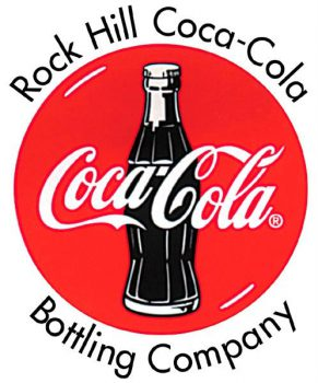 Rock Hill Coca-Cola logo with disc