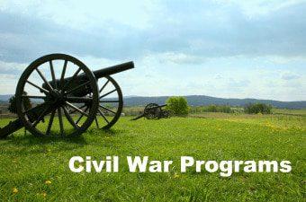 Civil War Programs