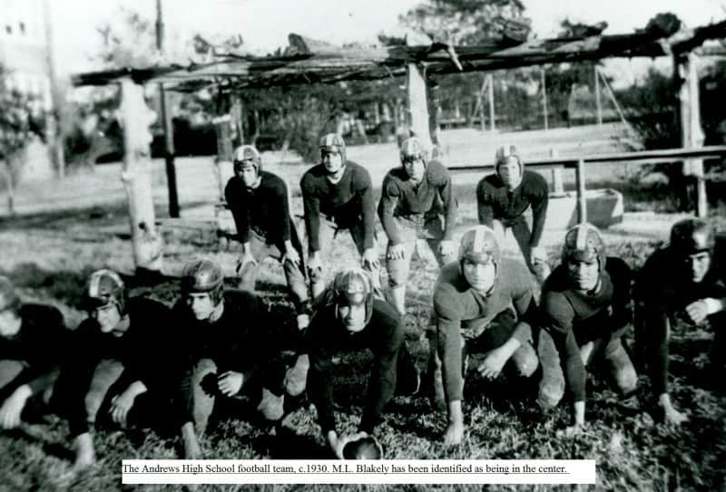 1930 Andrews High School Football