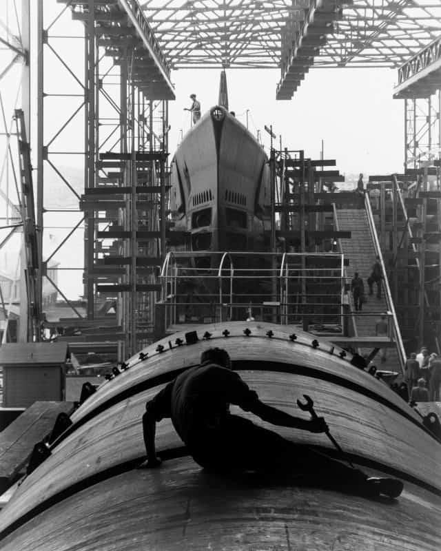 1_Man on Submarine Hull