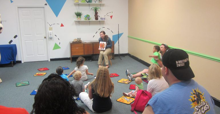 Literacy Programming at the Children's Museum of South Carolina