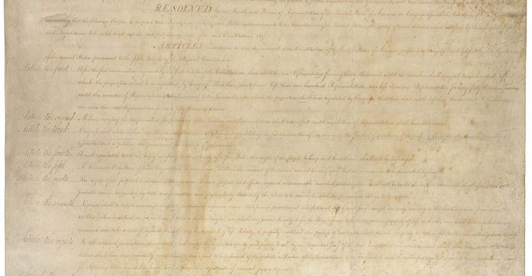 The Bill of Rights and You!