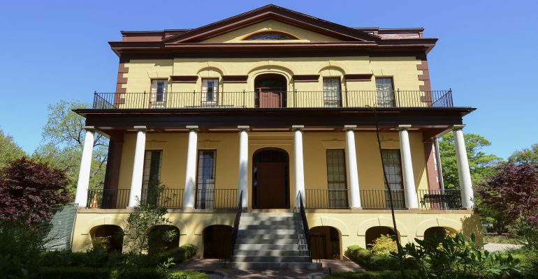 Reopening of the Hampton Preston Mansion in Columbia