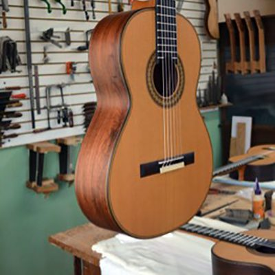 Mexican Guitar Building