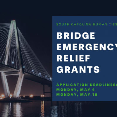 SC Humanities Offers Emergency Relief Grants for Cultural Organizations